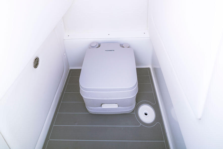 Porta Potty: <p>Add bow seating and soak up the rays on deck with a choice of colors and patterns to suit your style.</p>